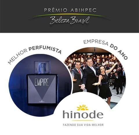 Melhor criação perfumística - Perfume Empire da Hinode