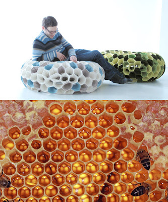 biomimicry - honeycomb chair