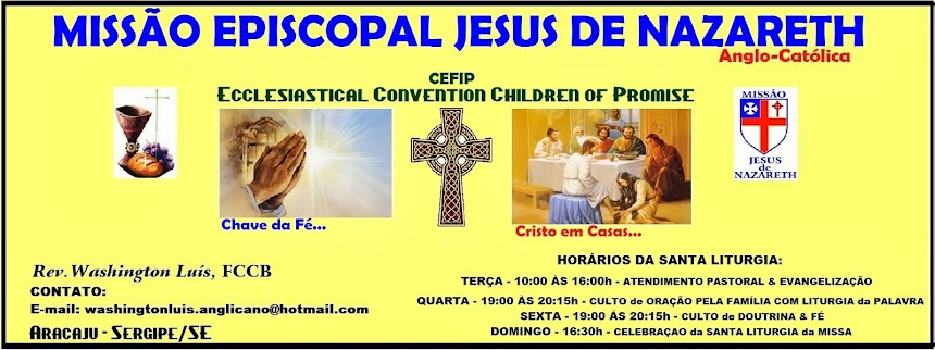 MISSÃO EPISCOPAL JESUS DE NAZARETH