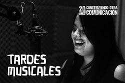 "Programa ""Tardes Musicales"""