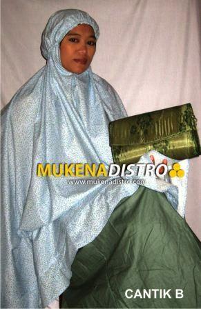 MUKENA DISTRO | CANTIK B | READY