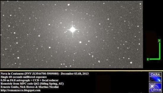Ada Ledakan Bintang di Langit Selatan