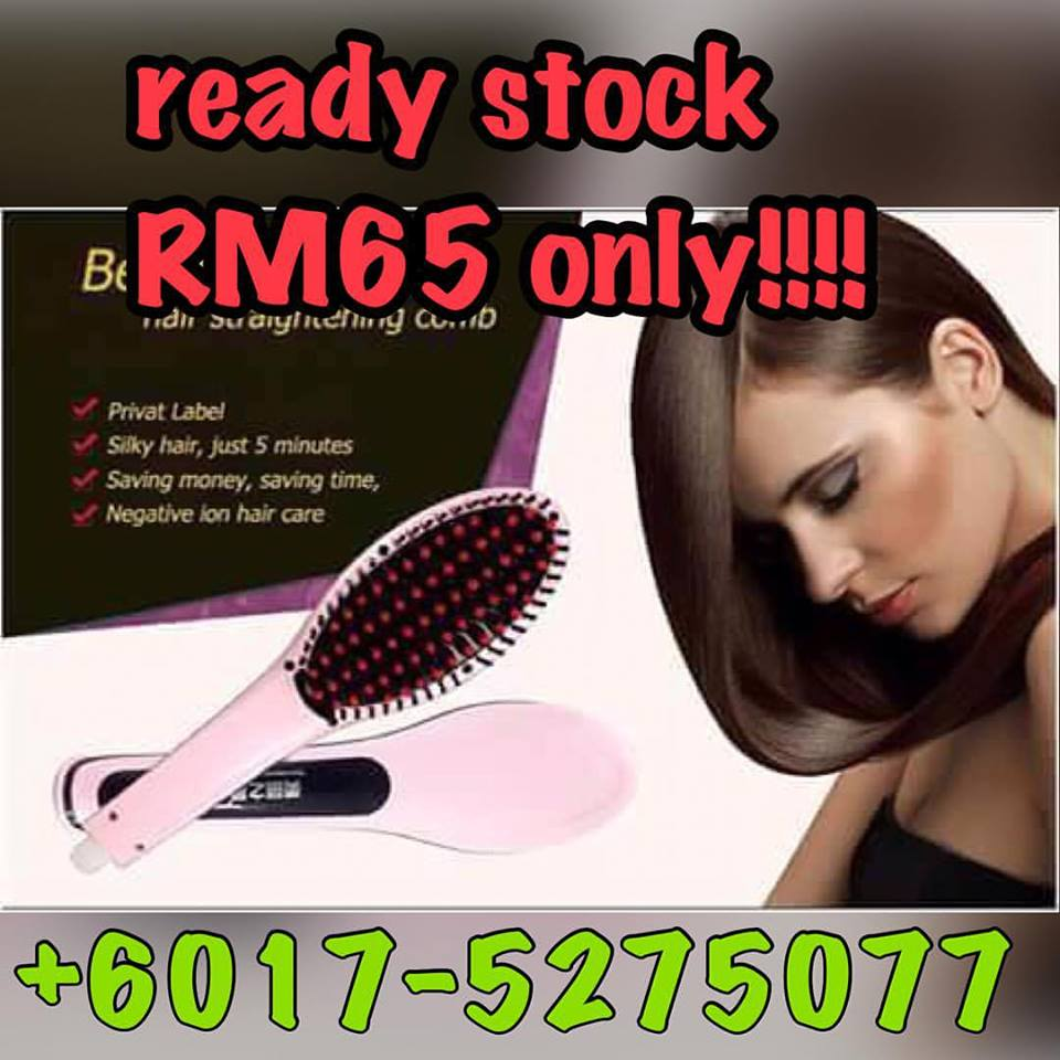 HAIR STRAIGHTENER MAGIC COMB