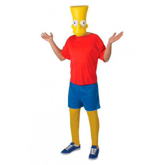 disfraz original bart simpson