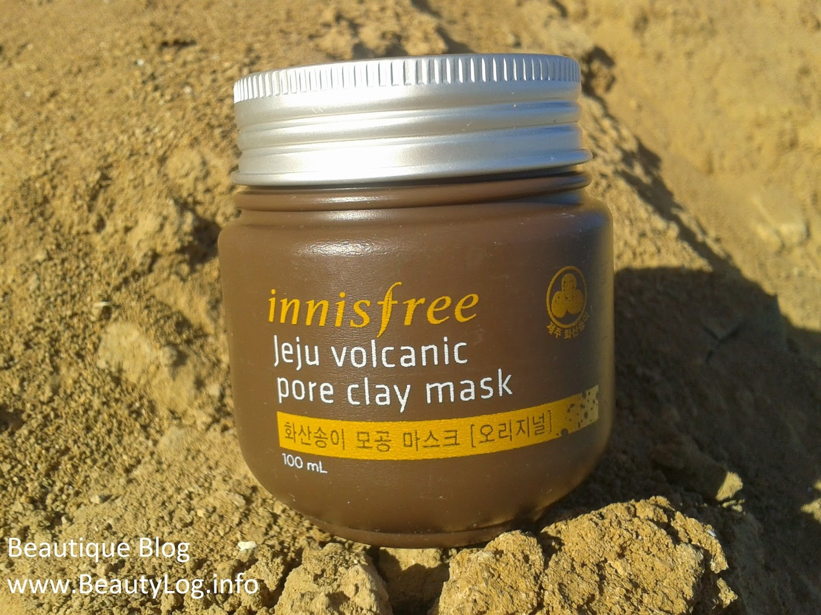 очищающая маска Innisfree Jeju Pore Clay Mask