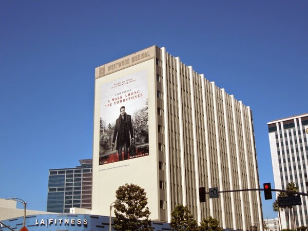 A Walk Among the Tombstones film billboard