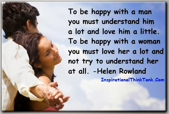 To Be Happy with the Man You Must