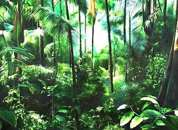 Paisajes Amazónicos al óleo