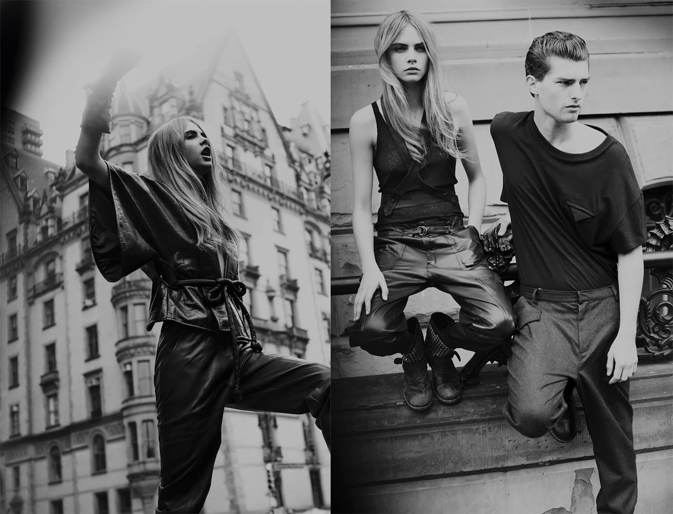 EDITORIAL: Take Manhattan Cara Delevingne And Paolo Anchisi