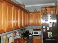 La cocina antes de ser reformada tenía este aspecto.