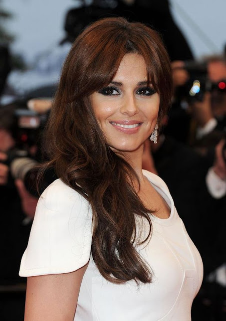 Cheryl Cole hair makeup