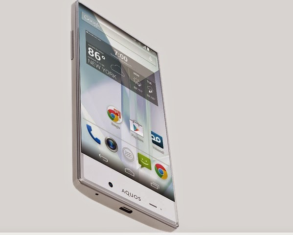 Sharp AQUOS Crystal phone