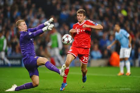 Video Manchester City VS Bayern Munchen 1-3 Hasil Liga Champions 3 Oktober 2013