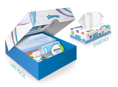 Kleenex Brand Care Pack