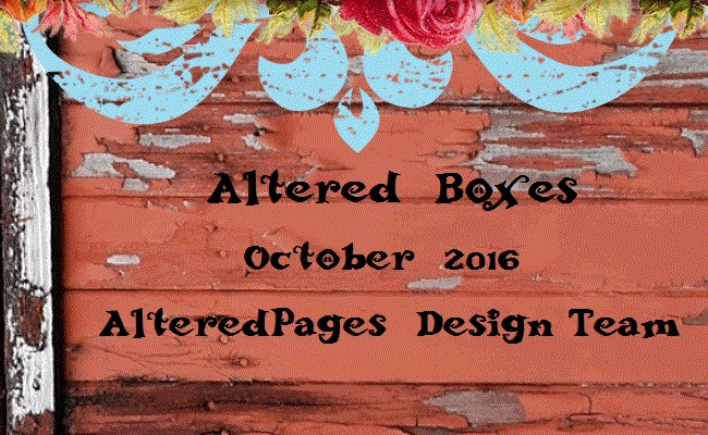 Altered Pages BOXES Oct 2016