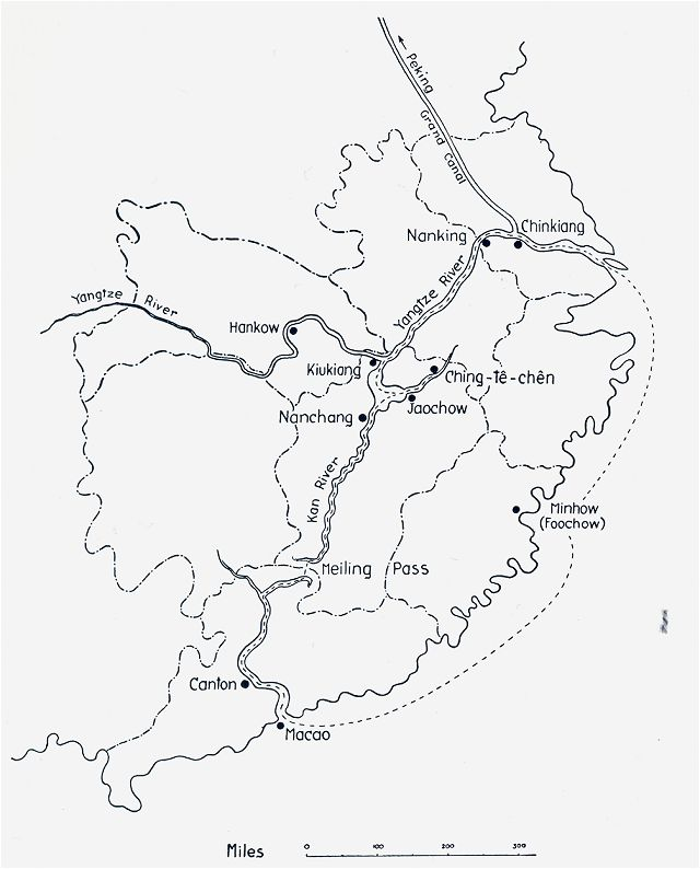 Smash All Old Things JINGDEZHEN WHEN THE WEST COPIED CHINA - Jingdezhen map