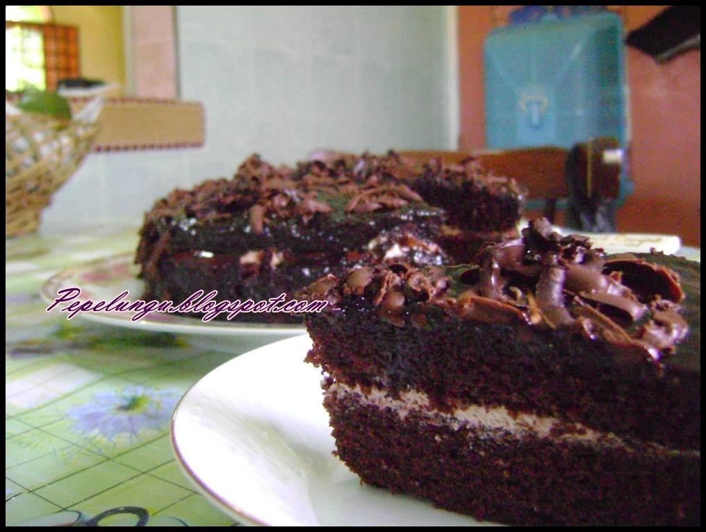 ini cerita Atiqah: Masak-masak : resepi kek coklat lembap