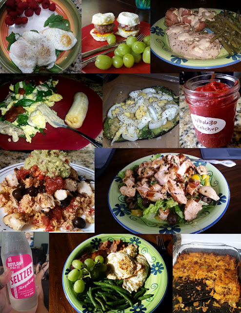 Whole30 week of food