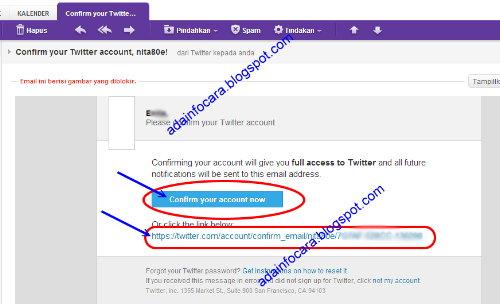 Cara Membuat Twitter - Daftar Twiter Baru Indonesia Gratis