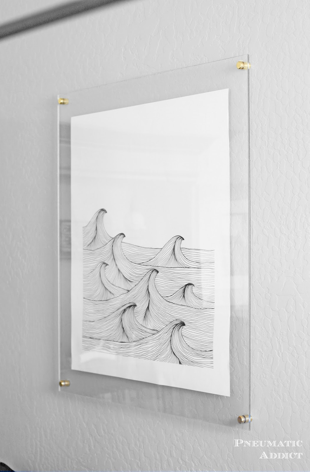 Pneumatic addict frameless floating art tutorial jeuxipadfo Image collections