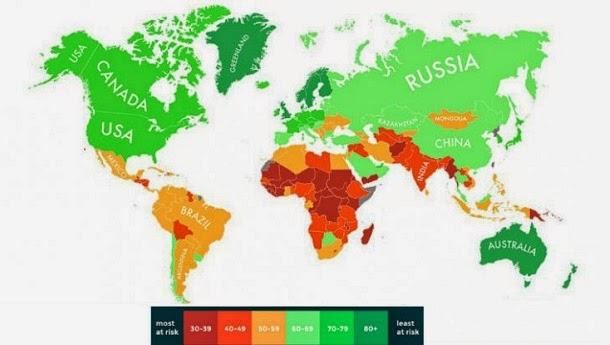 Conheça os países mais vulneráveis a mudanças climáticas
