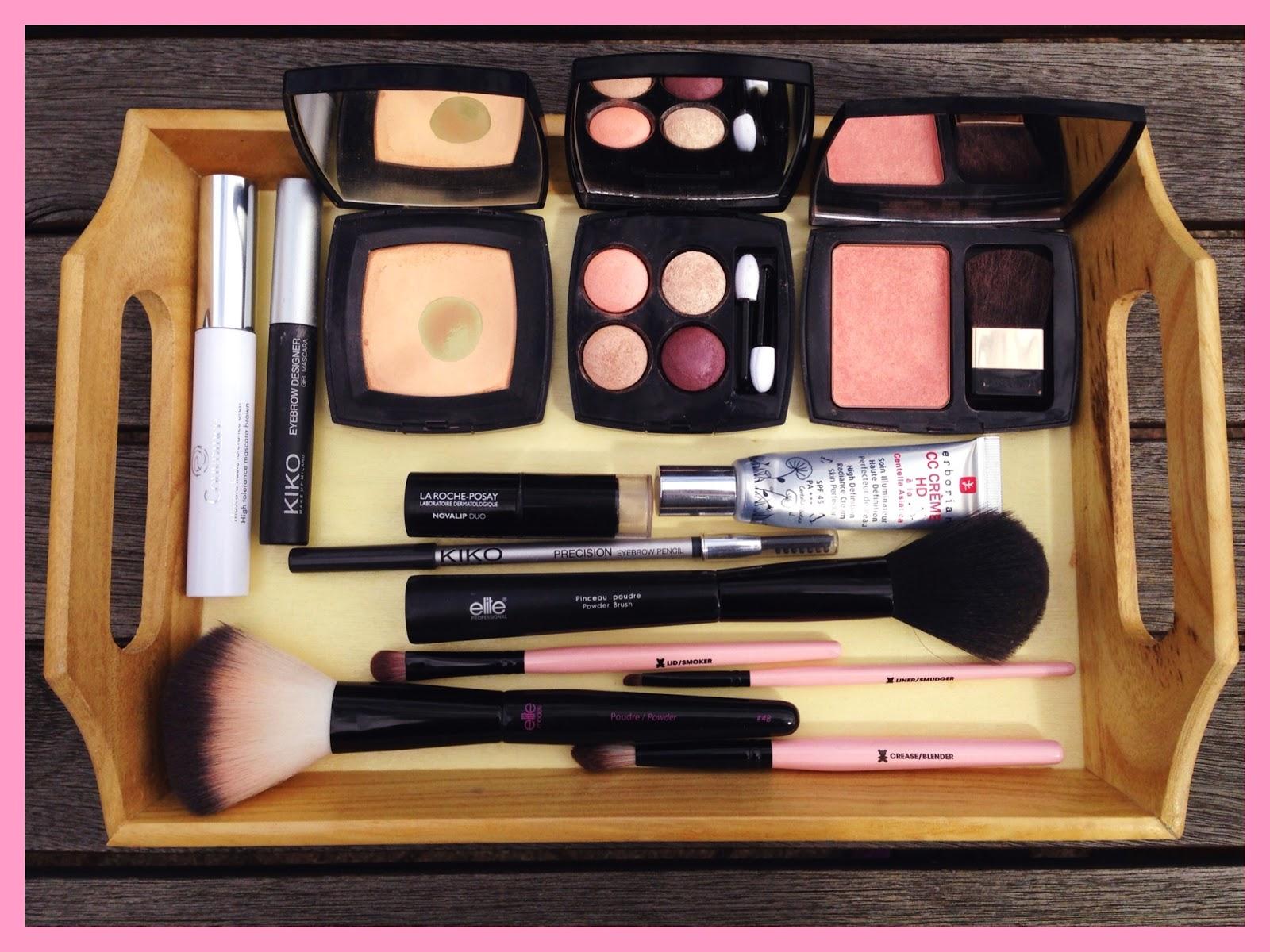 maquillage automnal avec la palette eclosion de chanel. Black Bedroom Furniture Sets. Home Design Ideas