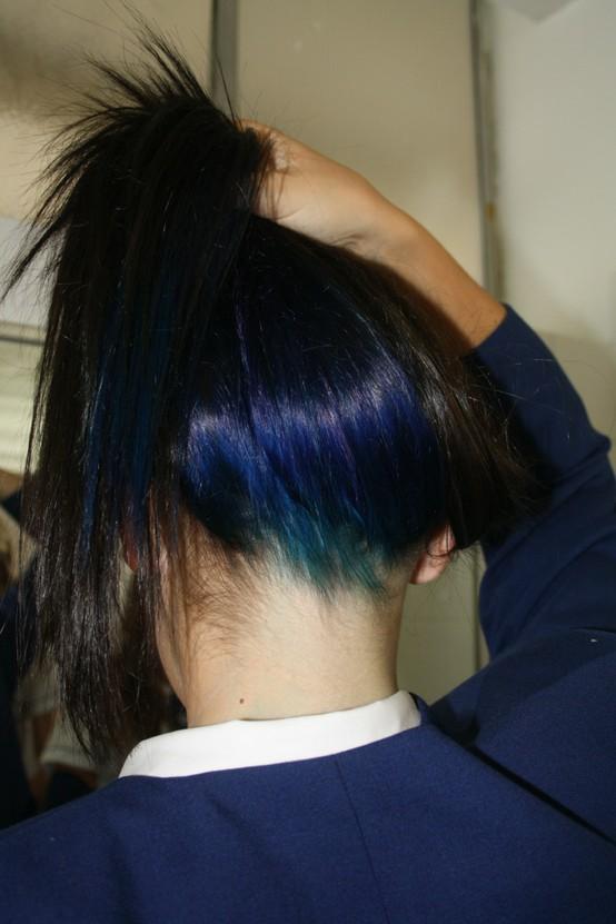 Rosa ou Pink ? Azul de Metileno + Vg = Mechas Azuis. Como ? Eu te mostro ...