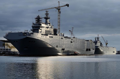 Mistral-class landing helicopter dock