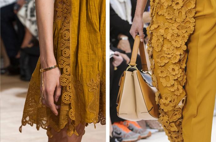 details of Chloe Spring/Summer 2015 and Chloe Spring/Summer 2013  via fashioned by love british fashion blog