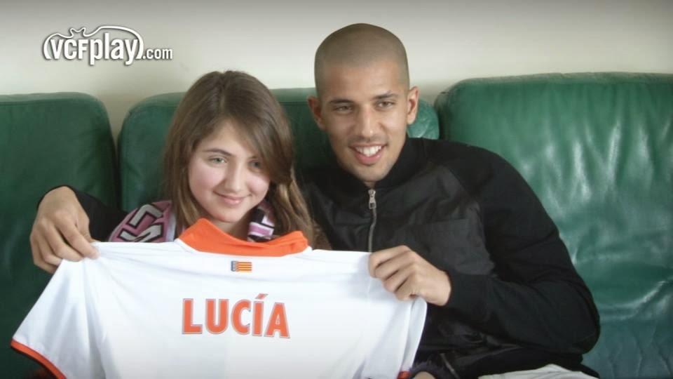 Feghouli sorprende a Lucía