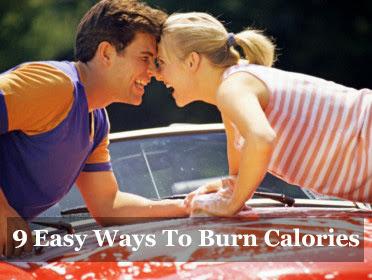 9 easy ways to burn calories