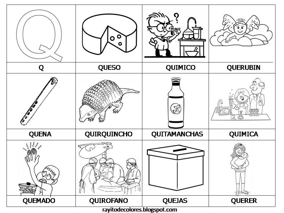 Palabras con Q