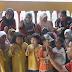 Ketua Penyelaras Operasi #JelajahAnakMalaysia Nyanyikan Lagu Negaraku Bersama Kanak-kanak Tabika di Bachok, Kelantan.