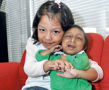 Kanak-kanak terkecil di Malaysia