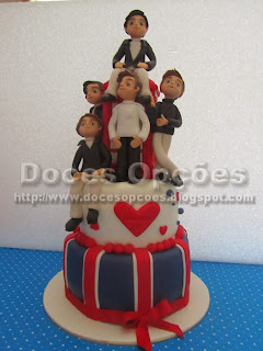 One Direction Take Me Home cake