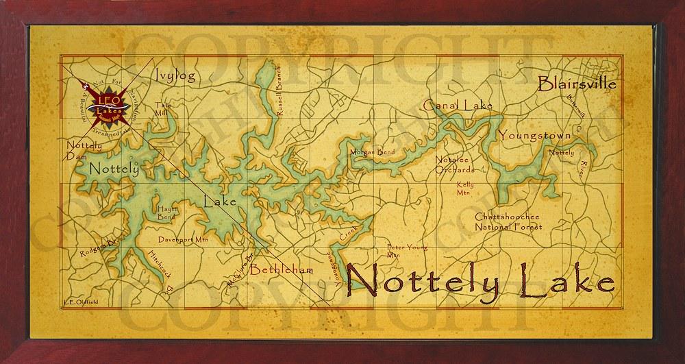 Baitrageous beautiful lake nottely for Lake nottely fishing