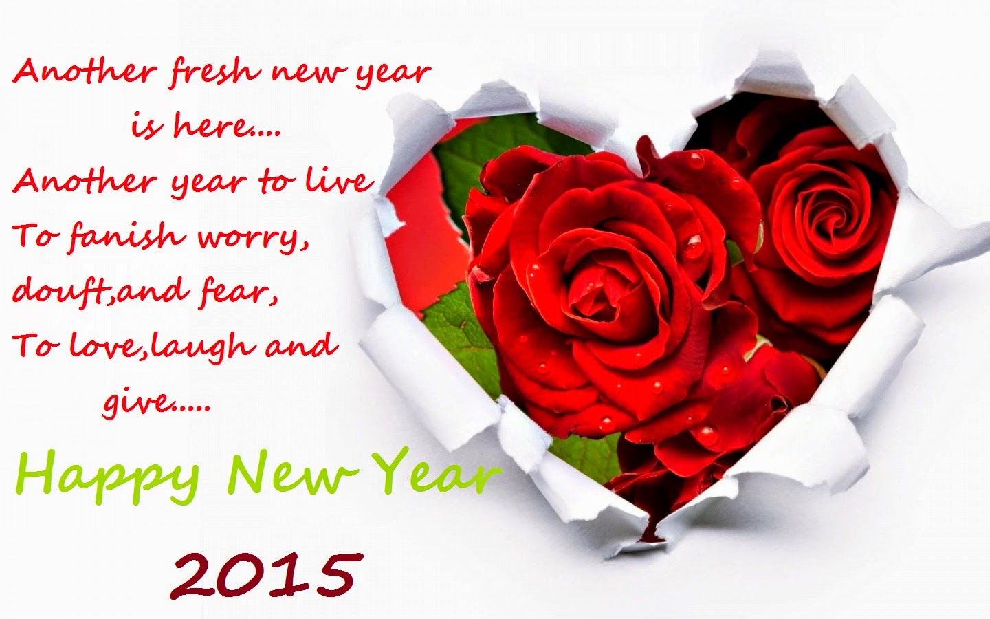 Best Wishes Roses Heart Cute Greetings Sms Card