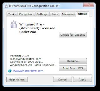 Winguard Pro Software