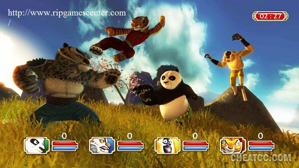 Kung Fu Panda (1C / Activision) (Repack) Rus/Eng от Sash HD. Скриншот 3.