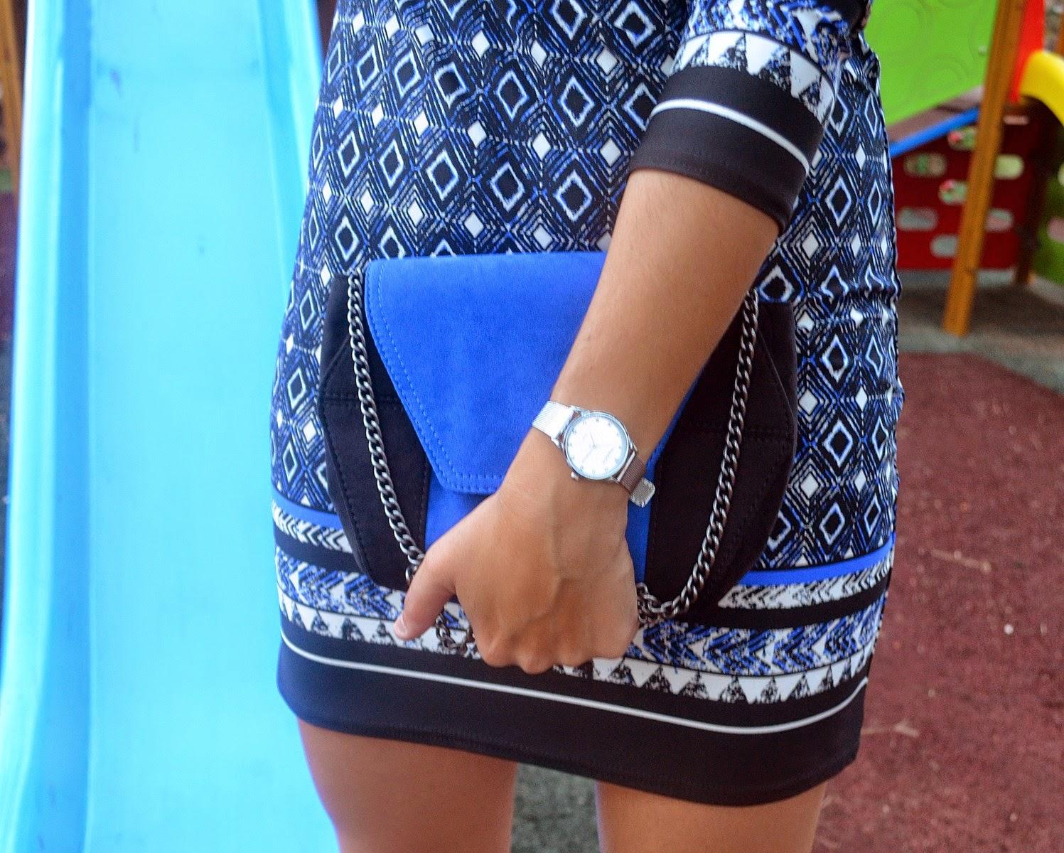 mi vestido azul, blog de moda, castellón, azul, blogger, look, fashion blogger