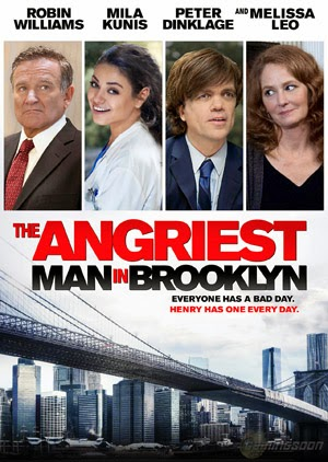 The Angriest Man in Brooklyn 2014 poster