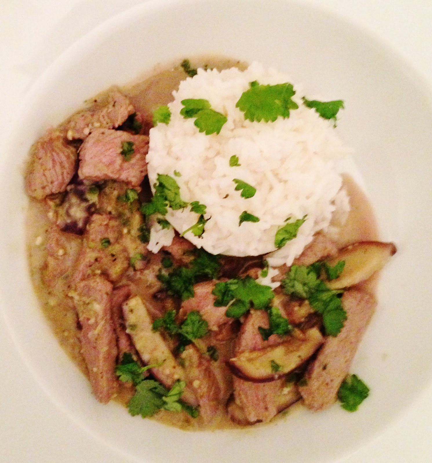 the Best Recipes: Thai Green Curry with Beef