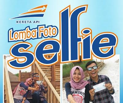 Yuk Ikuti Lomba Foto Selfie Bersama Kereta Api