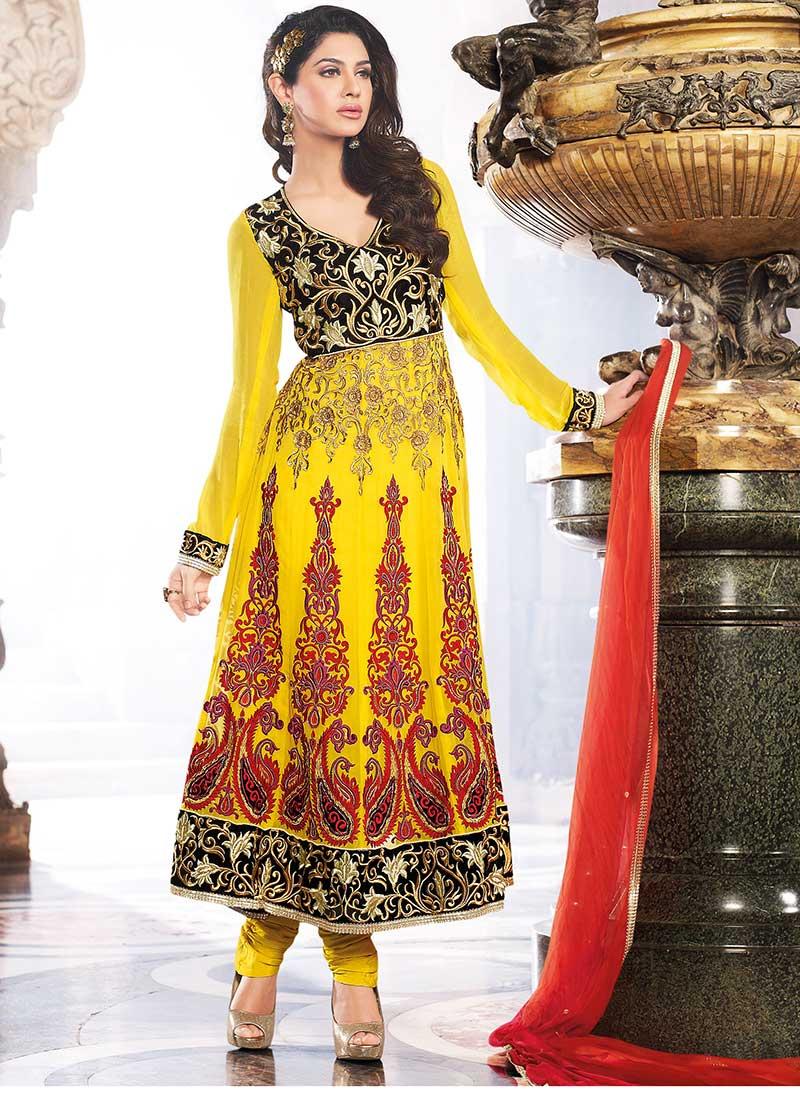 designer anarkali indian dresses latest fashion today