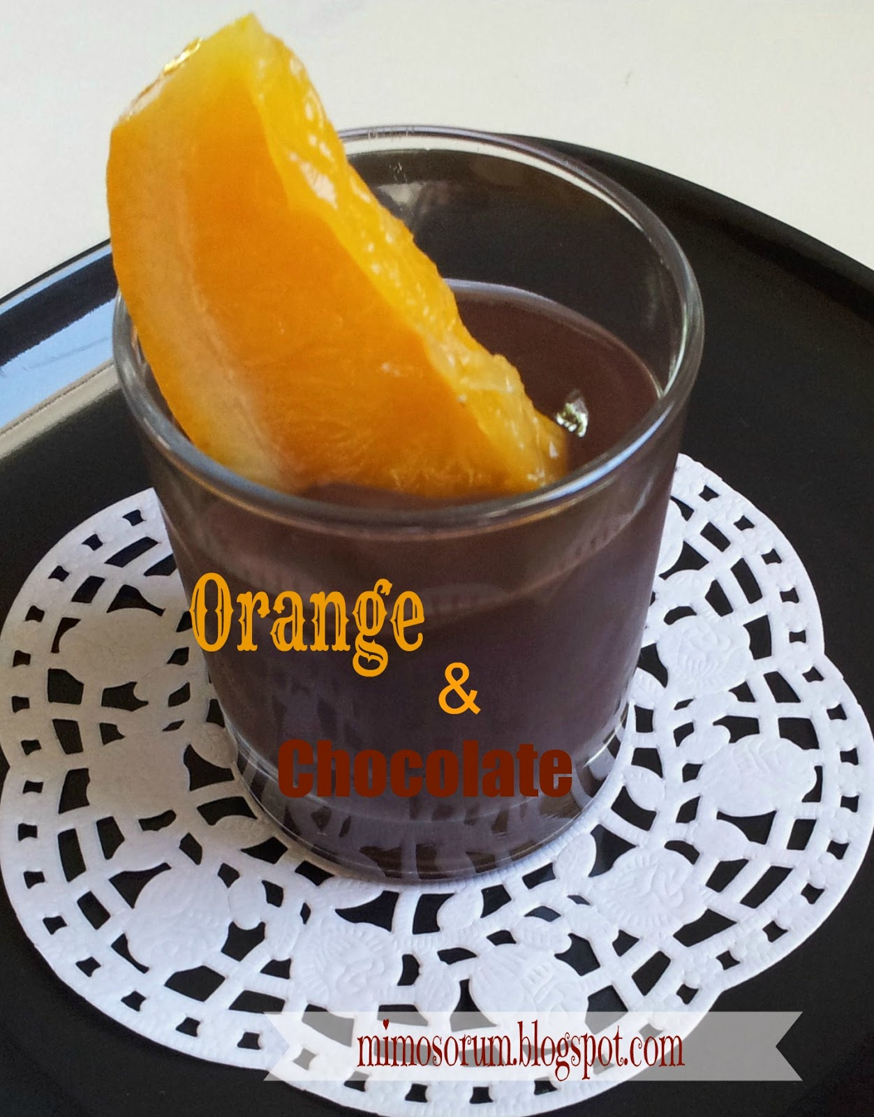 Chocolate Oranges. Mimosorum