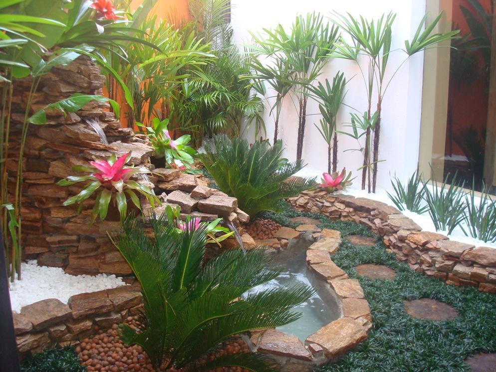 decoracao jardim pedras:Small Garden Design Ideas