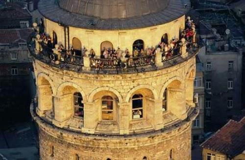 Galata Kulesinin Tepesi