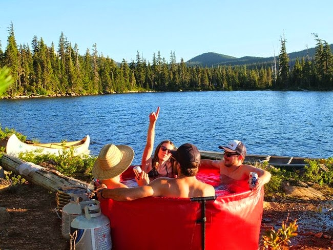 It's plenty big for a good group of friends. - This Camping Accessory Is The Best Invention Ever, You'll Be So Jealous