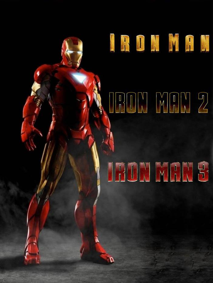 Trilogia Homem de Ferro Torrent - Blu-ray Rip 1080p Dublado (2008 á 2013)