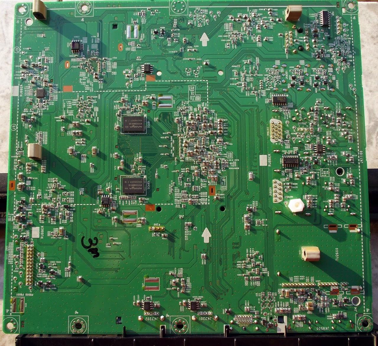 Placa de sinal TV LG32LD650